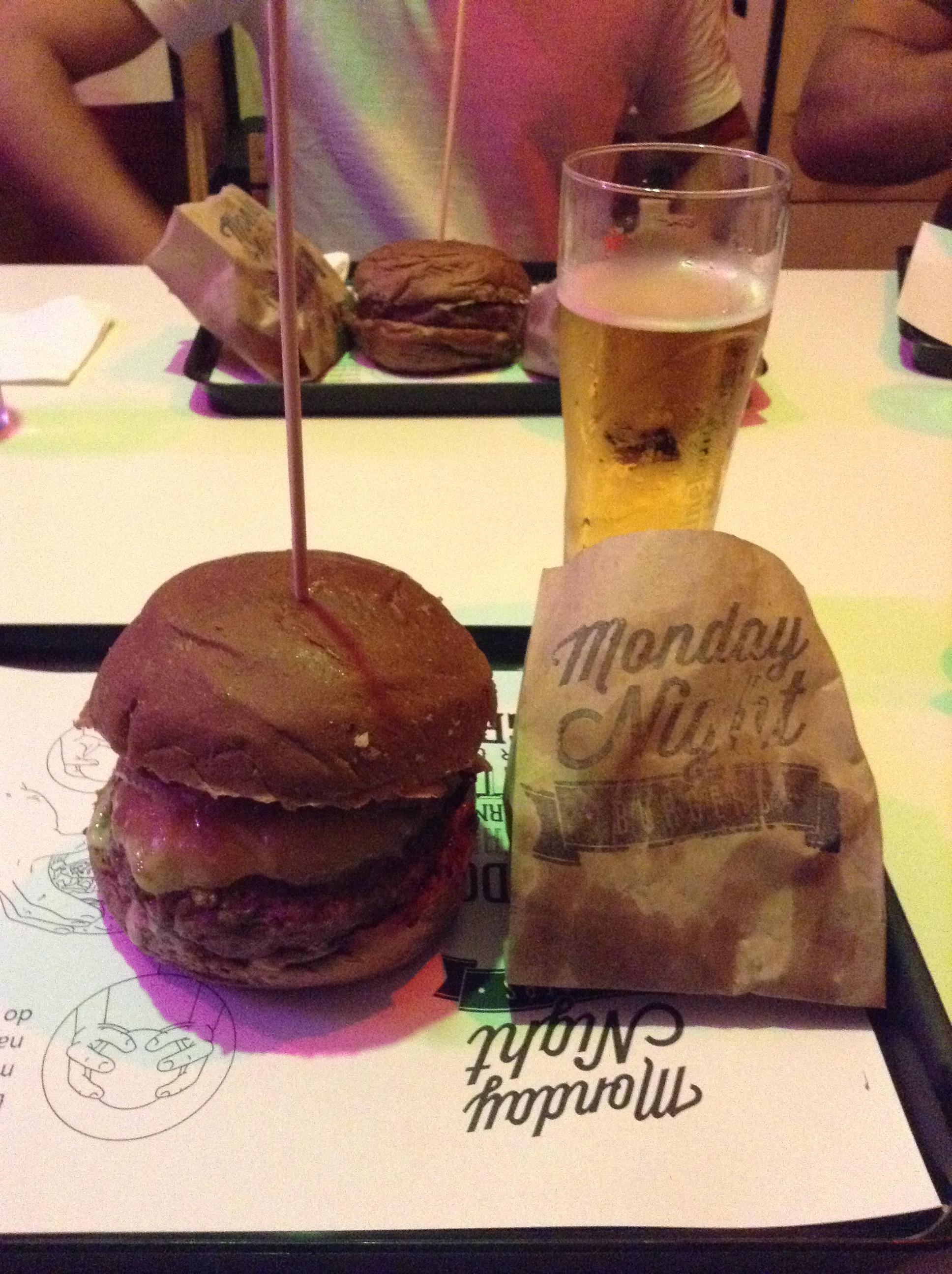 monday night burger specials