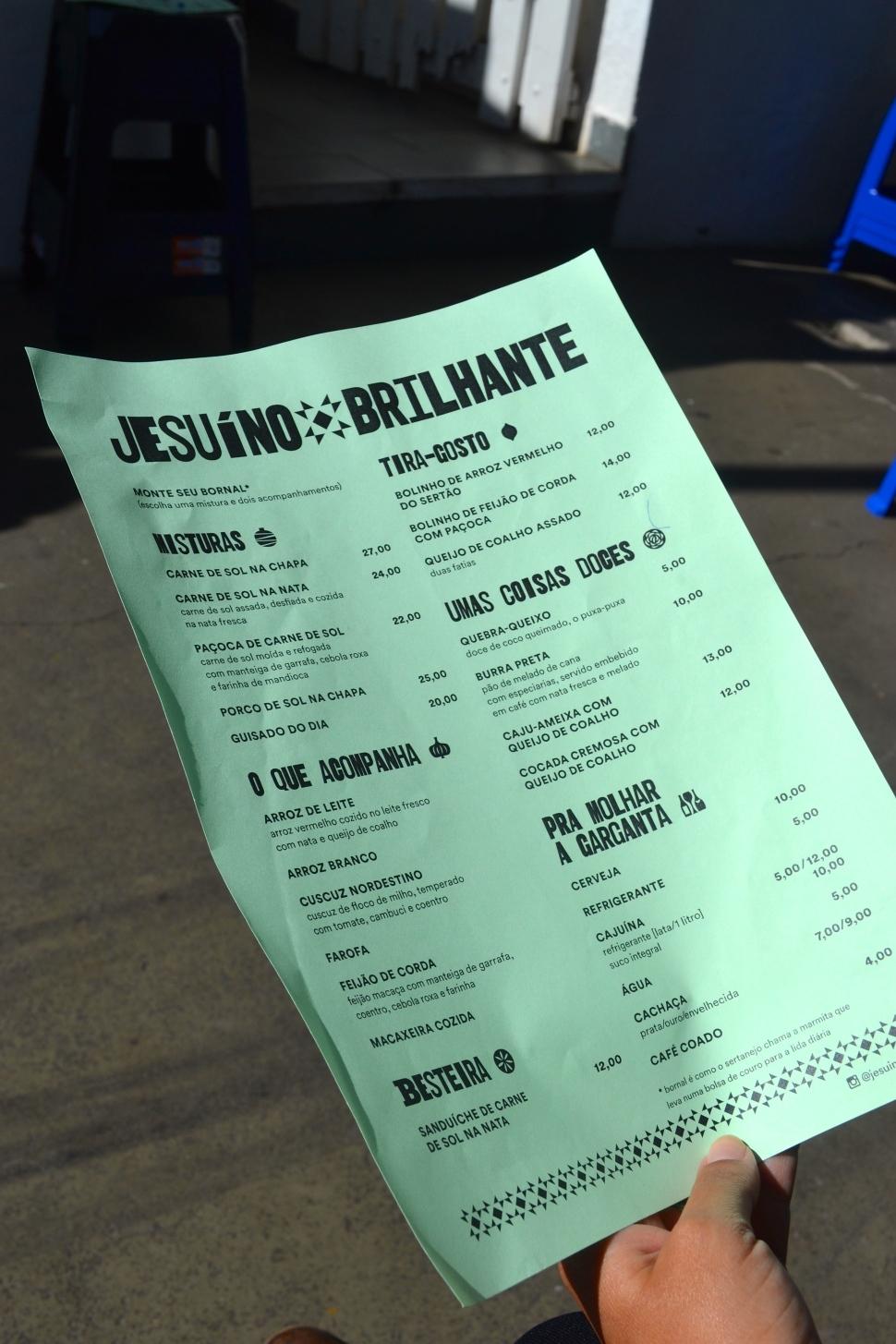 jesuíno brilhante restaurante